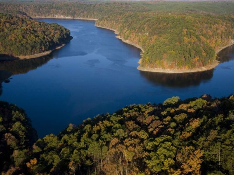 500 Acres Overlooking Lake Inland : Pine Mountain : Blount County : Alabama