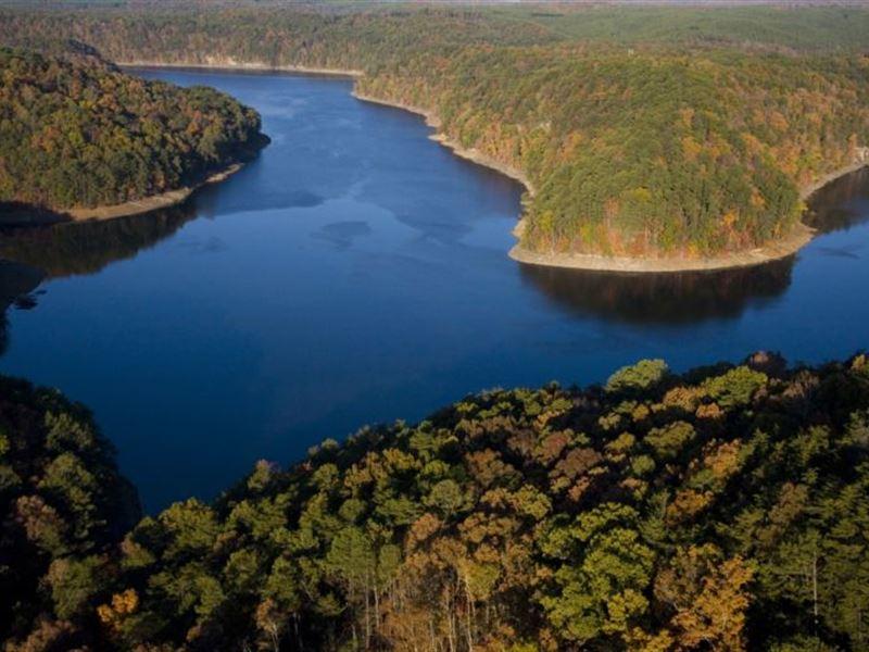 500 Acres Overlooking Lake Inland : Pine Mountain : Blount County : Alabama
