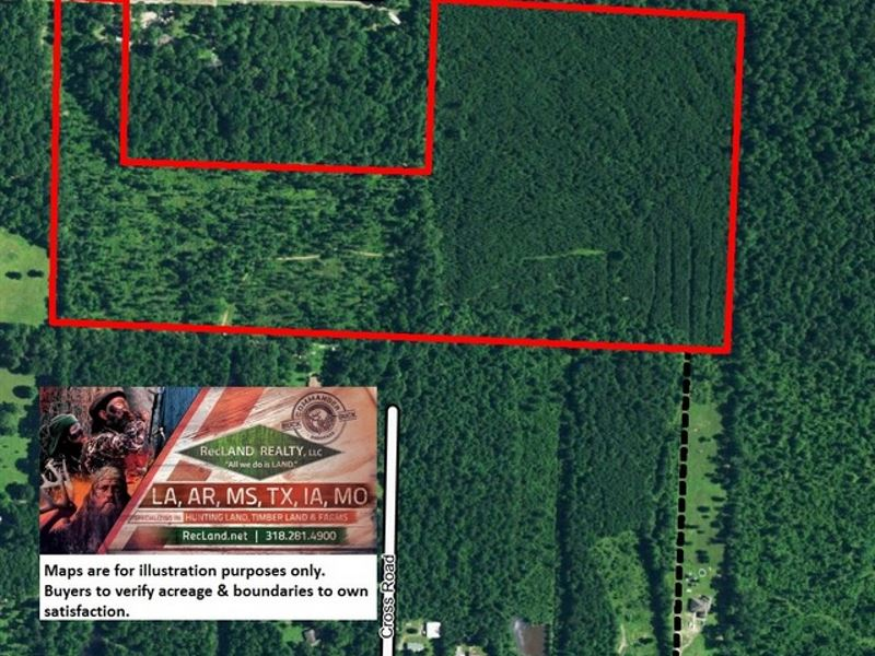 63 Ac - Timberland With Home Site : Pine Bluff : Jefferson County : Arkansas