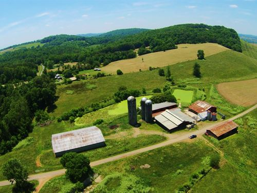 Beautiful 592 Acre Farm : Rutledge : Grainger County : Tennessee