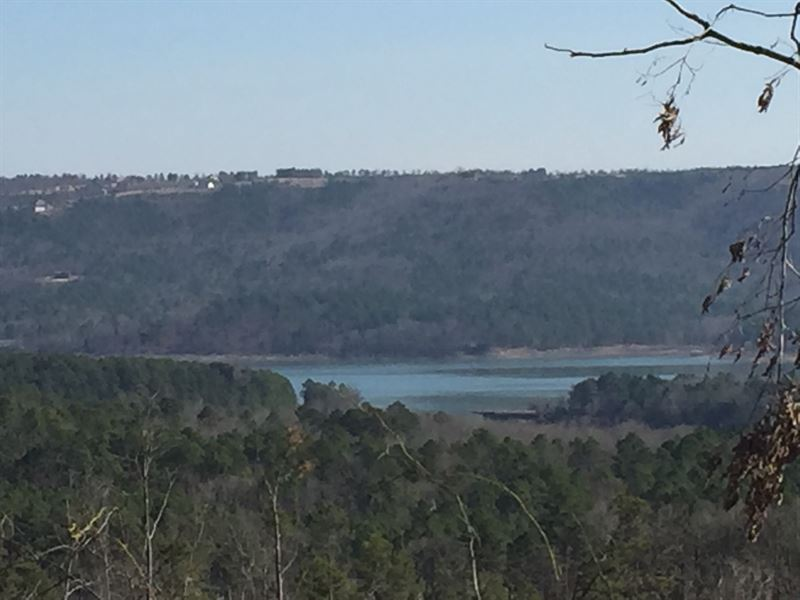 136 Acres Greers Ferry Lake Views : Clinton : Van Buren County : Arkansas