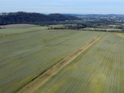 201+/- Acre Preserved Farm : Phillipsburg : Warren County : New Jersey