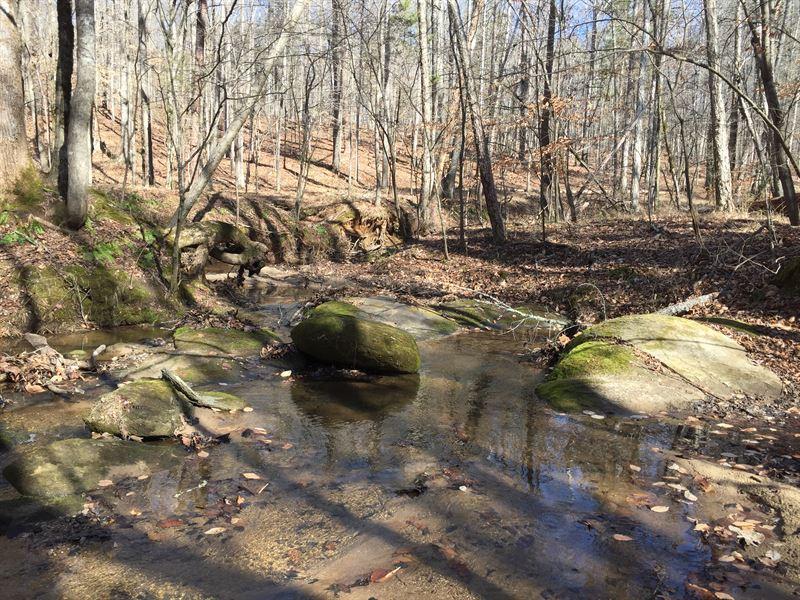Beautiful Cedar Creek : Elberton : Elbert County : Georgia