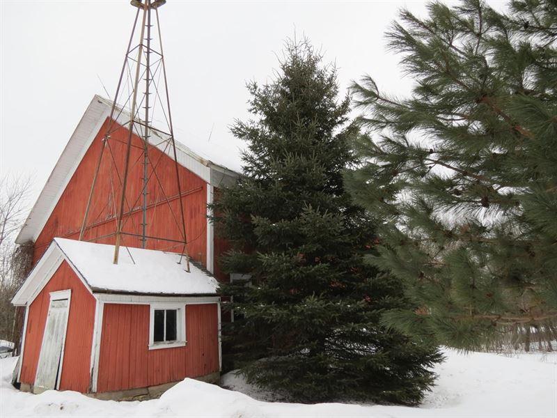 Beautiful Farmstead In Iola Wi : Iola : Waupaca County : Wisconsin