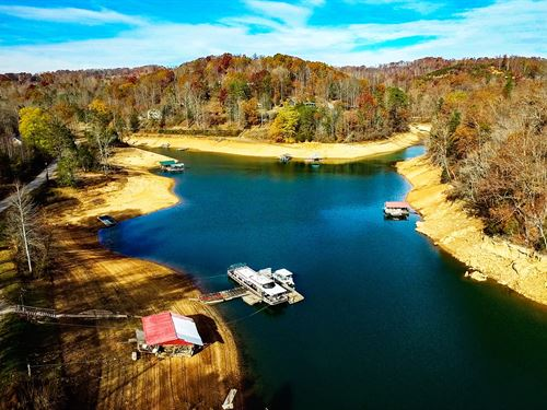 265 Acres On Norris Lake : Lafolette : Campbell County : Tennessee