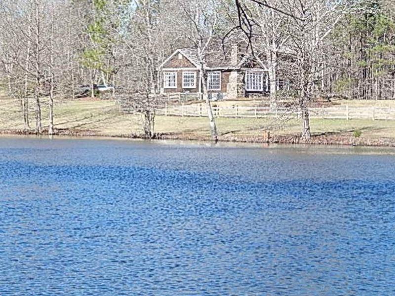 136 Acres W/ Perfect Family Estate : Laurel : Jasper County : Mississippi