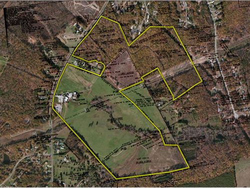 153 Acre Farm Near Lynchburg Va : Rustburg : Campbell County : Virginia