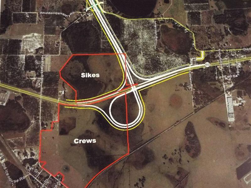 Sr 60 West Of Lake Wales, Fl : Lake Wales : Polk County : Florida