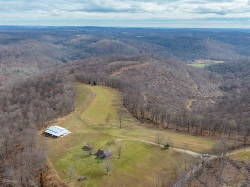 Wallace Rd - 373 Acres : Rarden : Scioto County : Ohio