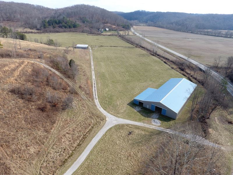 Ohio 522 - 133 Acres : Pedro : Lawrence County : Ohio