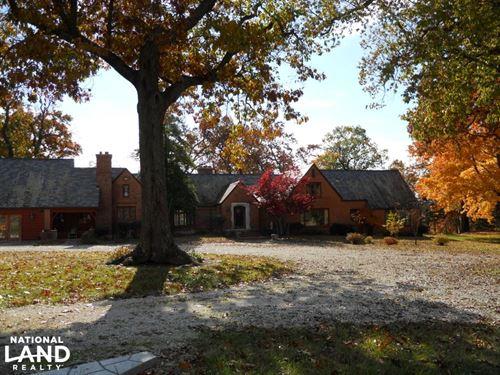 Jenkins Creek Waterfront Home : Sarcoxie : Jasper County : Missouri