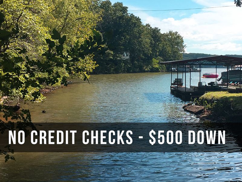 33 Acres With Lake Views & Frontage : Camdenton : Camden County : Missouri