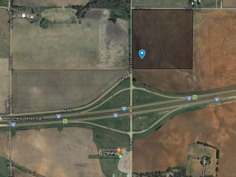 40 Acres Of Excellent Development : Erick : Beckham County : Oklahoma
