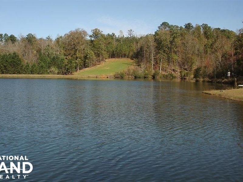 Weekend Retreat With Lakes : Moundville : Hale County : Alabama