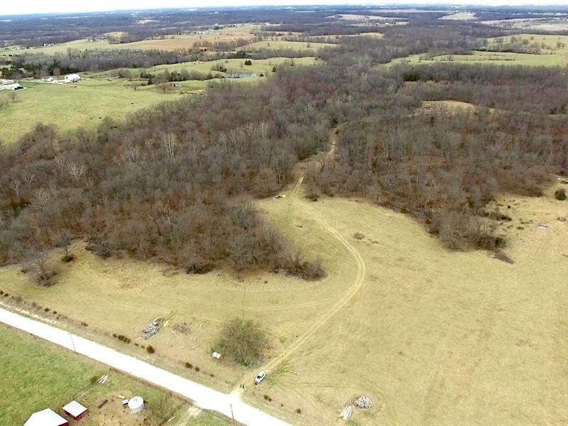 80.3 Acres County Rd 1114 : Madison : Monroe County : Missouri