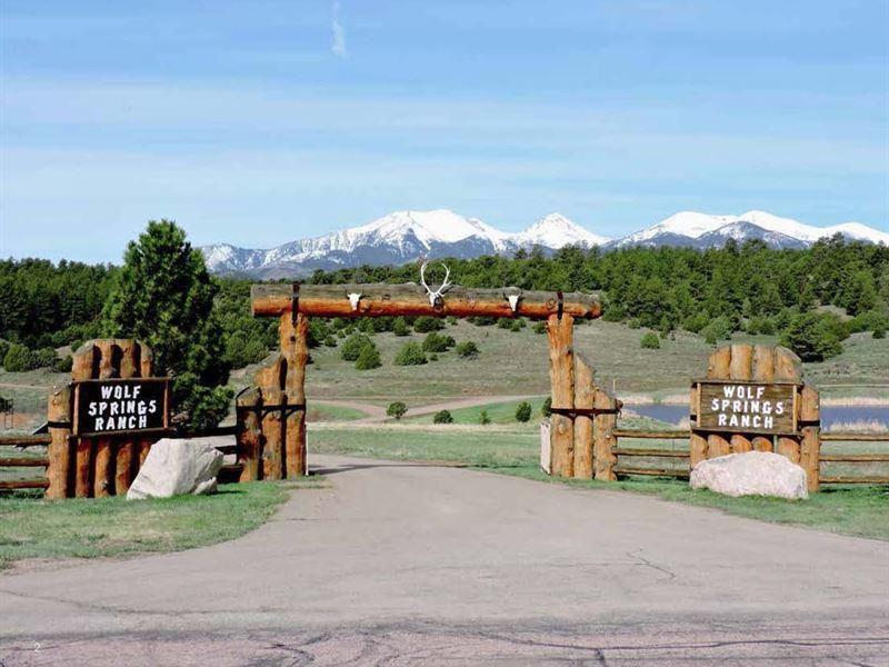 Wolf Springs Ranch : Westcliffe : Custer County : Colorado