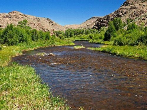 Cebolla River Ranches : Powderhorn : Gunnison County : Colorado