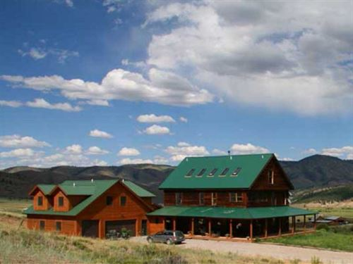 Powderhorn Creek Ranch : Powderhorn : Gunnison County : Colorado