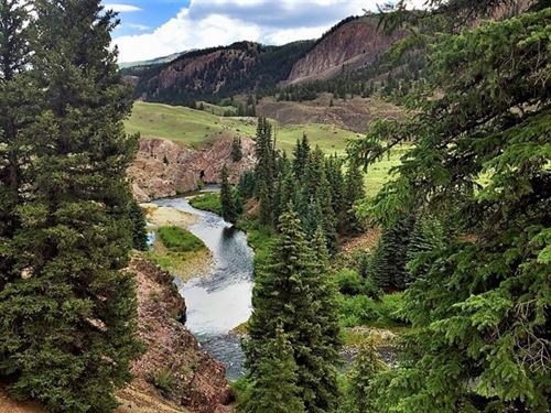 Muchas Truchas Ranch : Lake City : Hinsdale County : Colorado