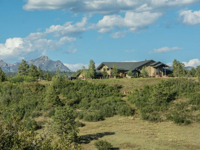 Extraordinary Family Estate : Pagosa Springs : Archuleta County : Colorado