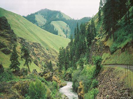 Grouse Creek Ranch : Imnaha : Wallowa County : Oregon