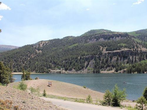 Lake San Cristobal Overlook, Lot 2 : Lake City : Hinsdale County : Colorado