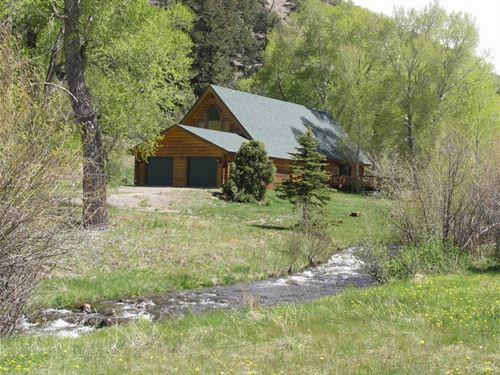 Colorado Dream Home : South Fork : Rio Grande County : Colorado