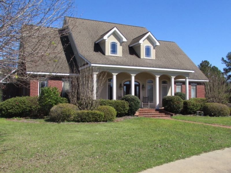 Estate Home 28 Acres Marion County : Columbia : Marion County : Mississippi