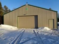 Mls 162948 - W/Storage Bldg : Lac Du Flambeau : Vilas County : Wisconsin
