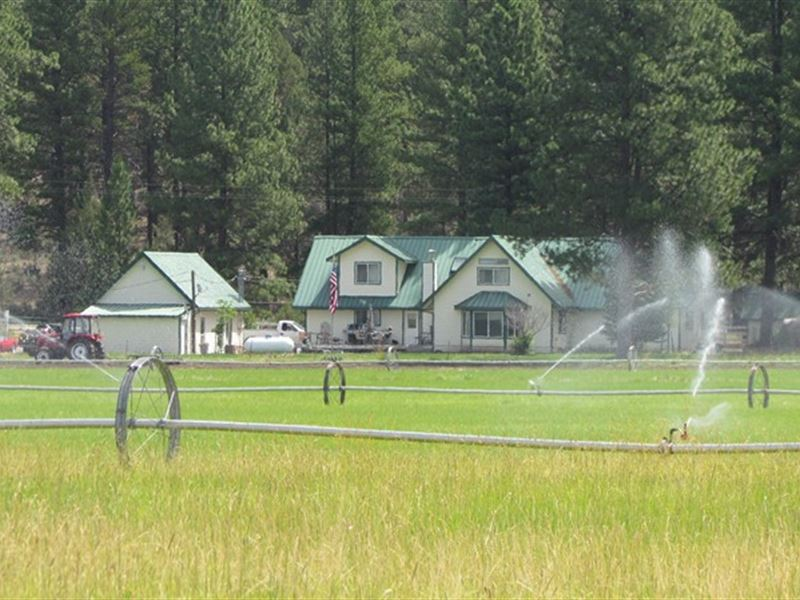 Majestic 69+ Acre Horse Ranch : Beatty : Klamath County : Oregon