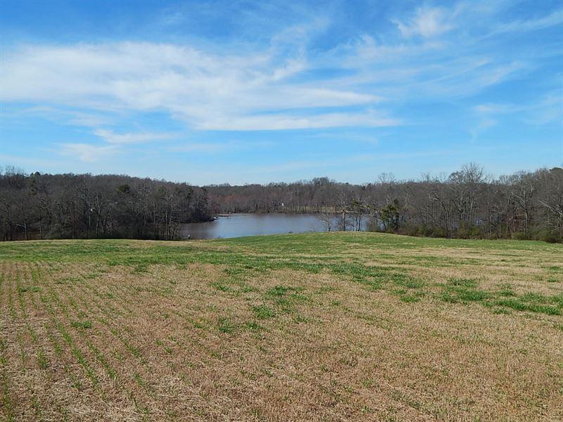 Home Site W Lake View & Pasture : Hull : Madison County : Georgia
