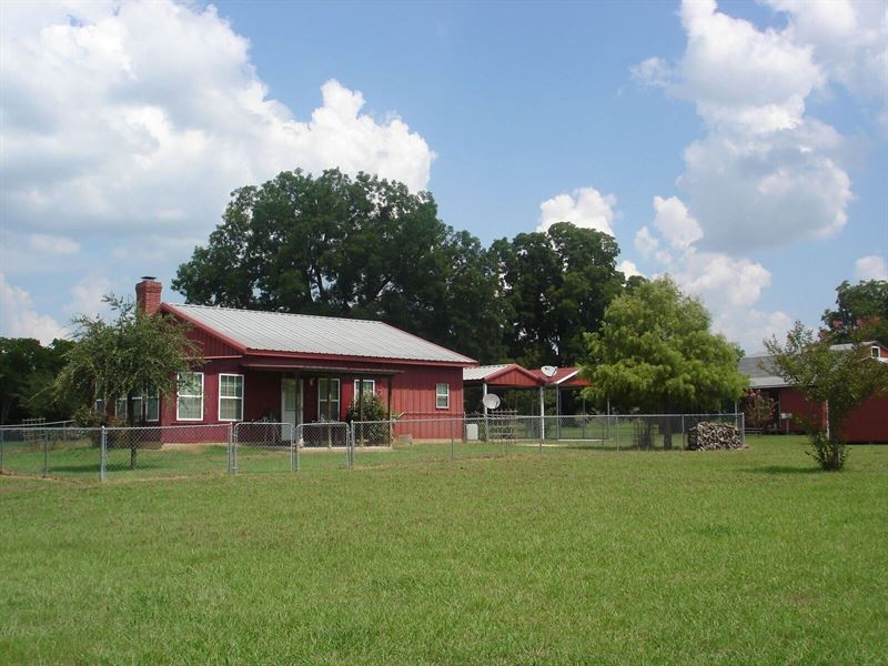 Home Large Rolling Acreage : Pattonville : Lamar County : Texas