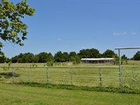 52+ Acres Pond And Pasture : Sulphur Bluff : Hopkins County : Texas