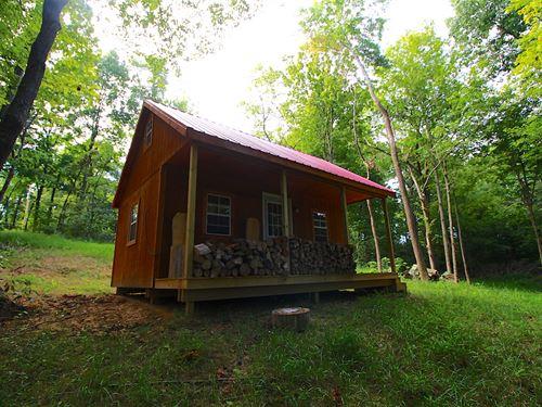 Sand Ridge Rd - 38 Acres : Guysville : Athens County : Ohio