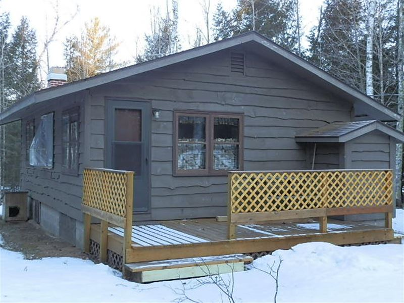 Nature Lovers Delight On 39.2 Ac : Minocqua : Vilas County : Wisconsin
