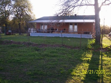103 Acres With Home Starter Ranch : Coleman : Johnston County : Oklahoma