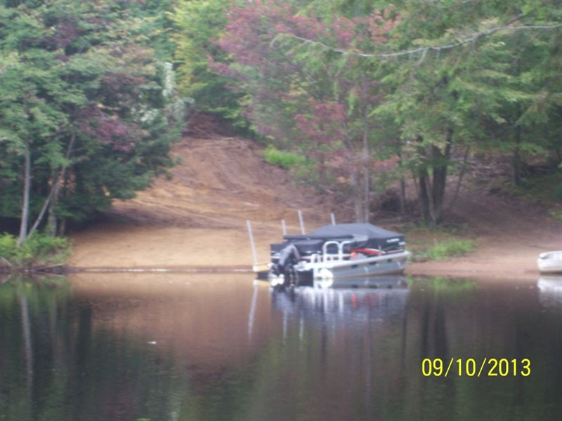 12 Ac On Effley Falls Reservoir : Croghan : Lewis County : New York