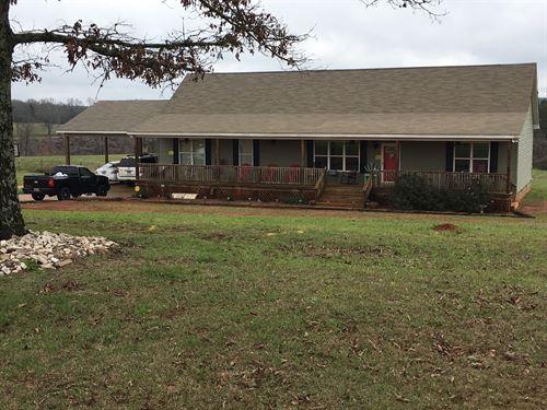 3 Bedroom Home On 10 Acres : Troy : Pike County : Alabama
