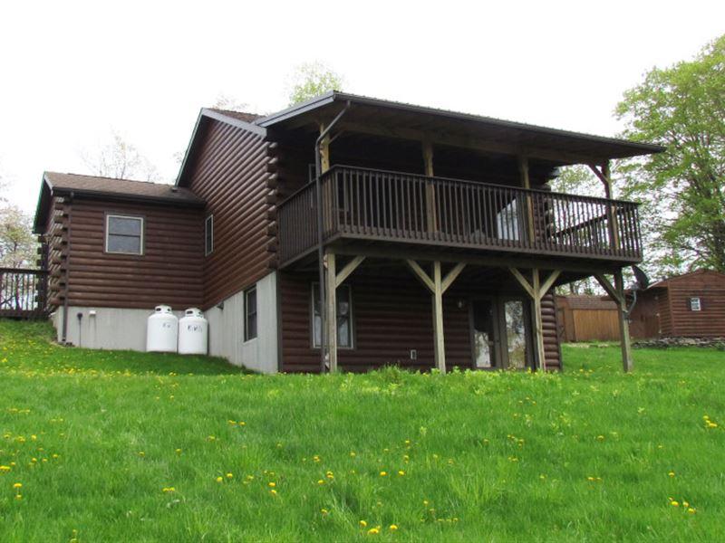 21 Acres Home Near Cortland Ny : Solon : Cortland County : New York