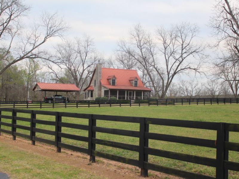 Turnkey Cattle/Horse Farm & Pec : Byromville : Dooly County : Georgia