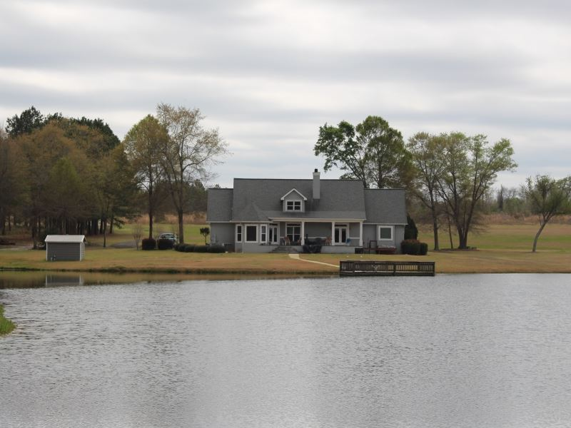 Relaxing Country Home With Acreage : Eastman : Dodge County : Georgia