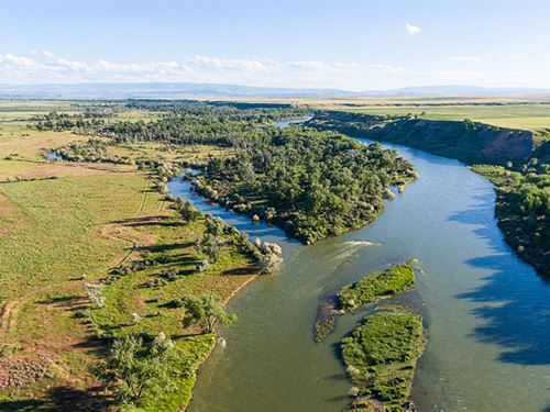 Bighorn River Recreation Investment : St Xavier : Big Horn County : Montana