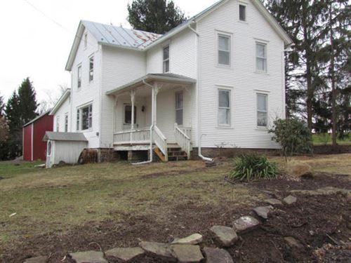 10.5 Acres, Home, Barn, Garage : Benton : Columbia County : Pennsylvania
