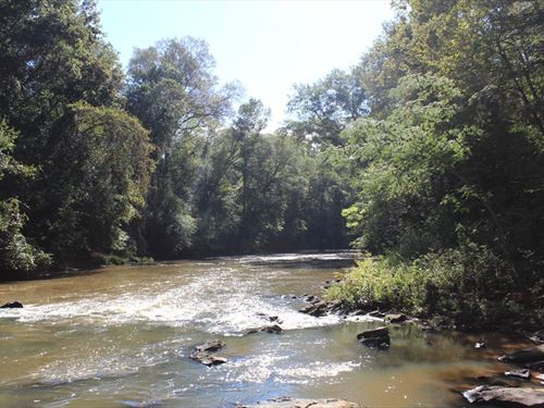 200 Acres On Potato Creek : Thomaston : Upson County : Georgia
