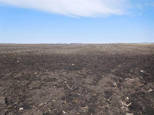 Crop Land With Rec. Benefits : Willow Lake : Clark County : South Dakota