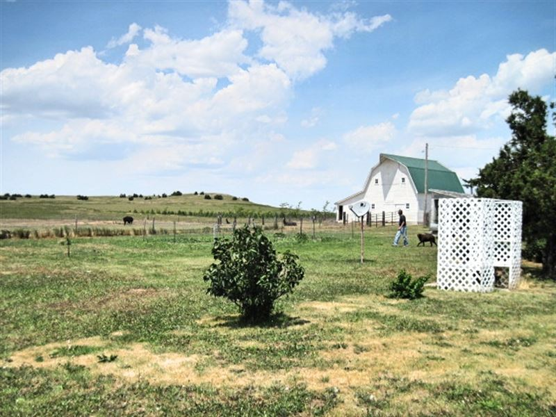 Banner Co Dryland/Ranch With House : Bushnell : Banner County : Nebraska