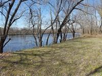 Riverfront- 18 Acres, Home, & Cabin : Buckingham : Buckingham County : Virginia