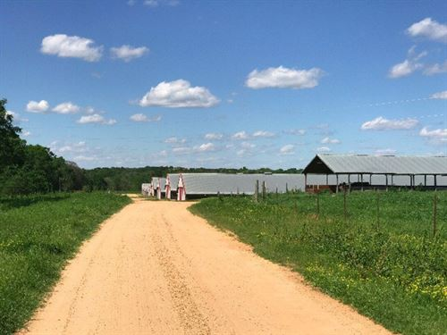 10 House Broiler Farm Simpson Count : Mendenhall : Simpson County : Mississippi
