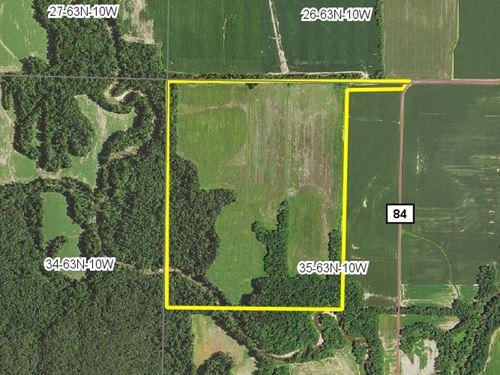 121 Acres Falcon Rd : Knox City : Knox County : Missouri