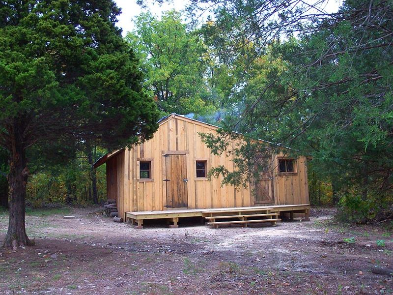 Insulated Rustic Cabin On 40 Acres : Cabool : Texas County : Missouri